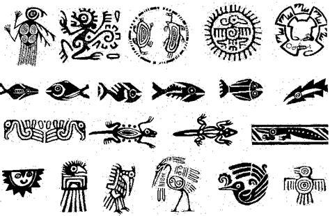 imagenes de simbolos aztecas y su significado dibujos aztecas y su significado imagui