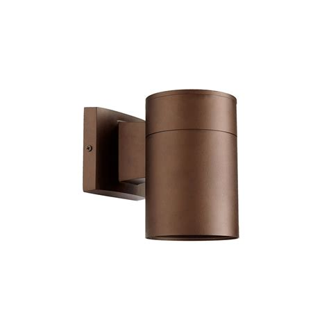 Quorum Wall Sconce Quorum International Signature 1 Light Outdoor Wall Sconce In Bronze 720 86 4