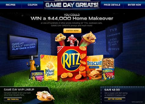 Kraft Foods Sweepstakes - kraft foods game date greats popsop in unison with the planet