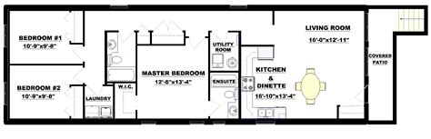 duplex narrow lot floor plans lot plan home design