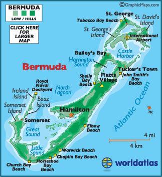 bermuda map bermuda map and information map of bermuda flags and