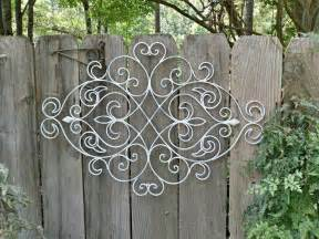 Garden Wrought Iron Decor Best 25 Patio Wall Decor Ideas On Pinterest Rubber Door Mat Rubber Spray Paint And Rubber Mat