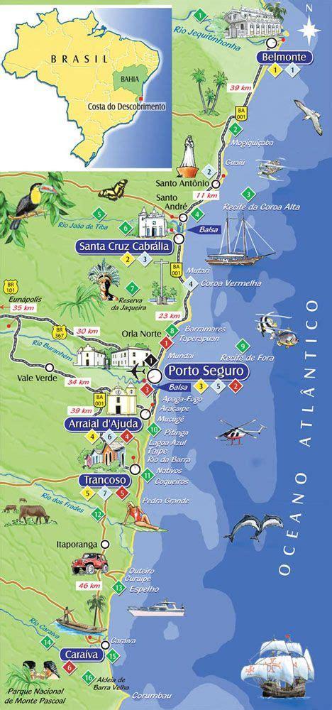 porto seguro brasile les 25 meilleures id 233 es concernant porto seguro bahia sur