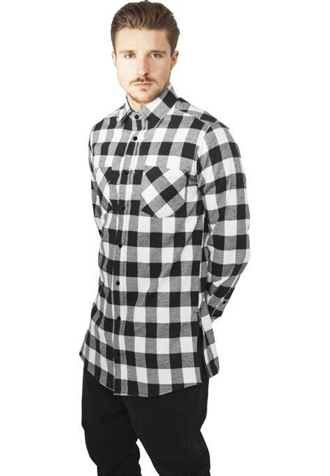 Flanel Black Big White side zip flannel shirt black white sugar spikes