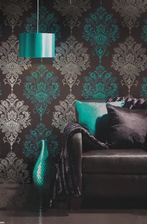 wallpaper for dark brown furniture brighter does not happen ideas for home garden bedroom