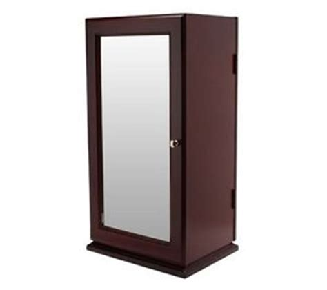 Lori Greiner Spinning Jewelry Armoire by Tabletop Spinning Mirrored Jewelry Safekeeper Lori Greiner