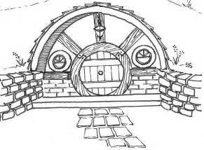Hobbit Hole Floor Plan by Housey Things On Pinterest