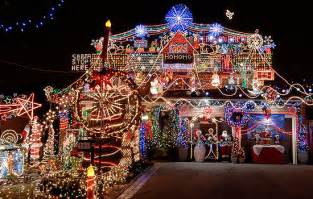 houses with a lot of lights how to stage a house during the holidays