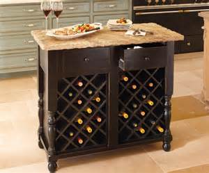 Kitchen Islands With Wine Rack Oakmont Kitchen Island Wine Storage Base Contemporary