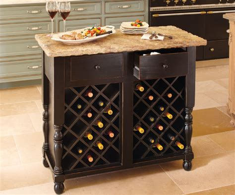 Wine Rack Kitchen Island Oakmont Kitchen Island Wine Storage Base Contemporary