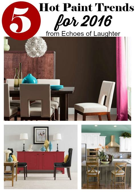 color chart 2016 design trends timeless home dcor neutrals with pops of color paint trends