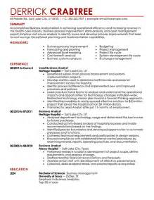 Sample resume business process analyst Perfect Resume Example Resume And Cover Letter