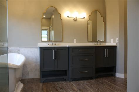 bathroom vanity with seating area home plans with inlaw