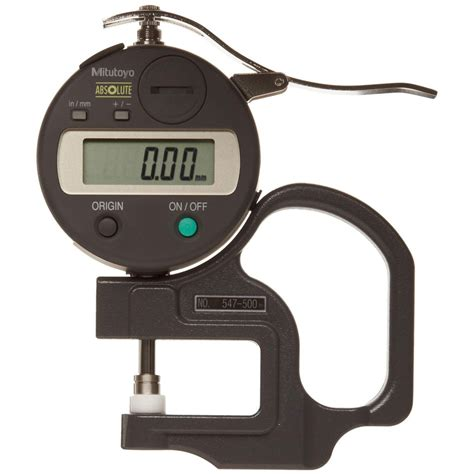 Thickness Mitutoyo Mitutoyo 547 Series Digital Portable Thickness Gages