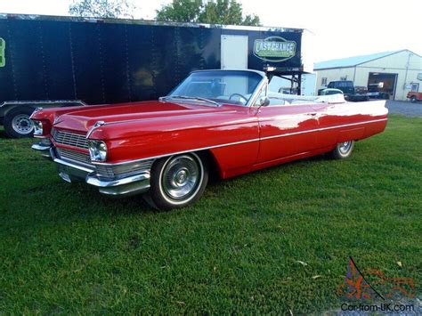 1964 Cadillac Convertible For Sale by 1964 Cadillac Convertible Coupe Ebay