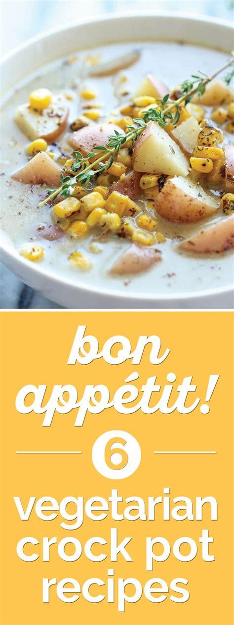 bon app 233 tit 7 vegetarian crock pot soup recipes soup