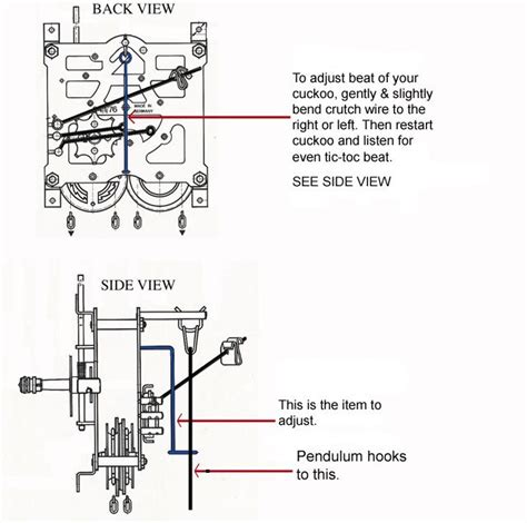 cuckoo clock diagram 17 best images about cuckoo repair on toms