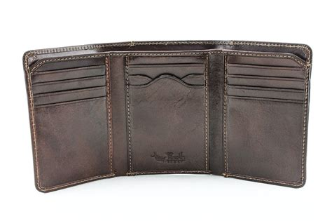 Tony Perotti Pg411003 Prima Leather - tony perotti prima tri fold wallet w id window handmade