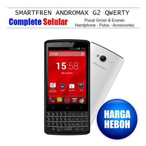 Silicon Smartfreen Andromax G2 Qwerty jual smartfren andromax g2 qwerty di lapak complete selular official completeselular