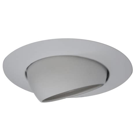 Lowes Recessed Lighting by Shop Utilitech White Eyeball Recessed Light Trim Fits
