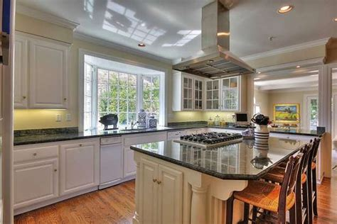 island with cook top and breakfast bar we then installed colonial home in pastoral setting available in moraga sfgate
