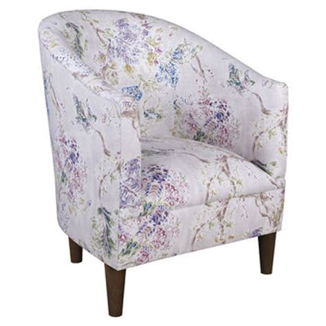Lavender Accent Chair Ashlee Floral Tub Chair Lavender Accent From One