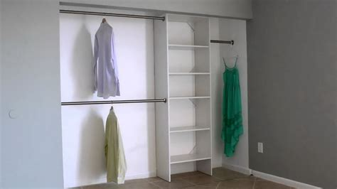 Double Hanging Closet Rod Height   Home Design Ideas