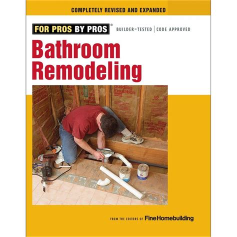 bathroom remodeling book 9781600853630 the home depot