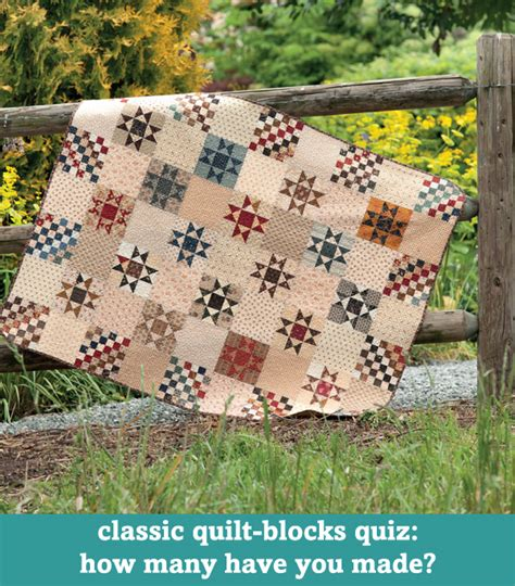 Classic Quilt Blocks by Anniversary Week Free Quilting Tutorials Roundup Day 1