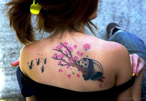 panda chest tattoo girl panda tattoo chest www pixshark com images galleries