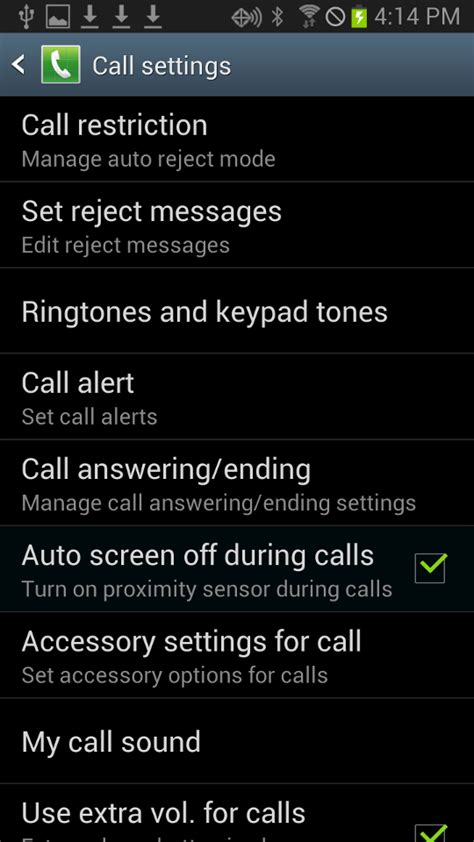 reject list android how to add a phone to reject list in android step by step with screenshots