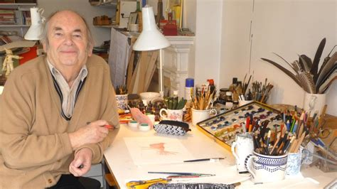 quentin blake in the bbc news in pictures quentin blake exhibition in cambridge