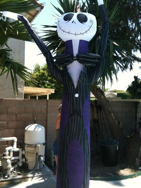 Skellington Yard Decoration by Nightmare Before Yard Inflatables X