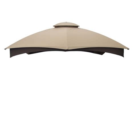 Gazebo Top Replacement Shop Allen Roth Gazebo Beige Replacement Canopy Top At