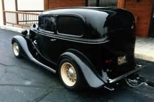 1934 Chevrolet Sedan 1934 Chevrolet Custom 2 Door Sedan 117283