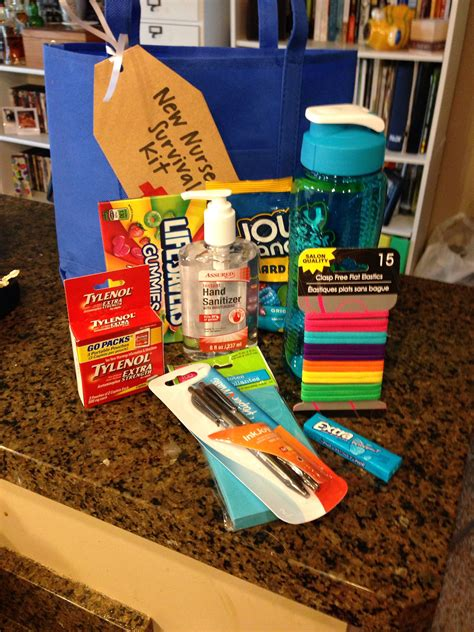 Nursing School Gifts For Friends by New Survival Kit Prep Nursing Student Gifts