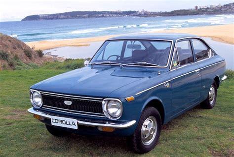Toyota Corolla 1970s 1970 Toyota Corolla Sprinter Vintage Car Publicity