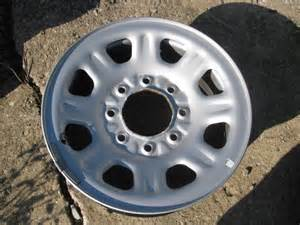 Chevy Truck Wheels 8 Lug 8 Lug 18 Quot Chevy Gmc Truck Steel Wheel Hd 3500 Ebay