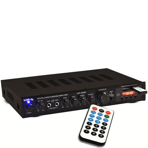 Usb Bluetooth Musik audio dj verst 228 rker lifier musik anlage usb bluetooth