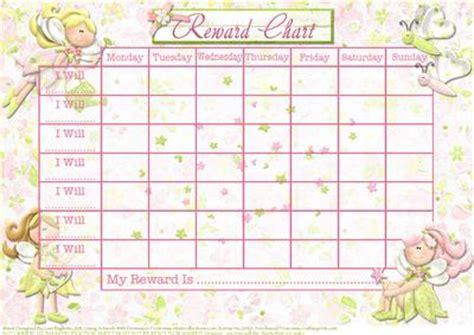 a4 printable reward charts pretty little pixies child s reward chart cup171803