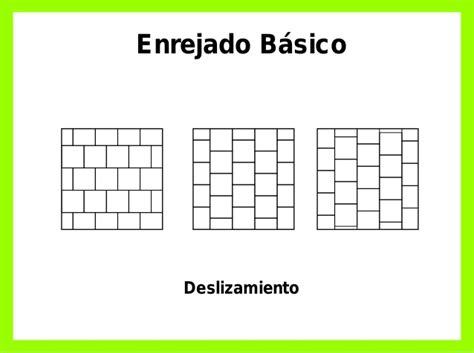 variaciones del enrejado basico estructura elementos de dise 241 o ww