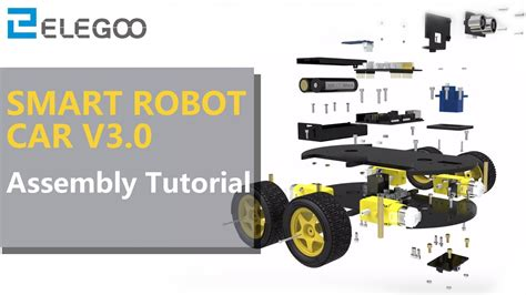 smart robot car  assembly tutorial youtube
