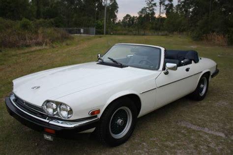 sell used 1991 jaguar xjs convertible 28k miles classic