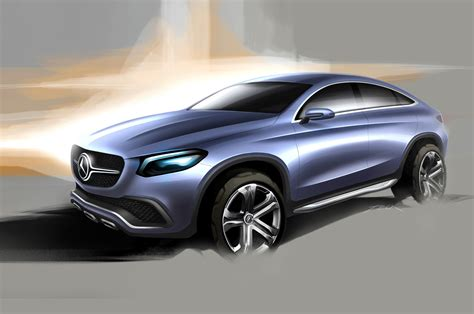 suv benz mercedes benz concept coupe suv first look motor trend
