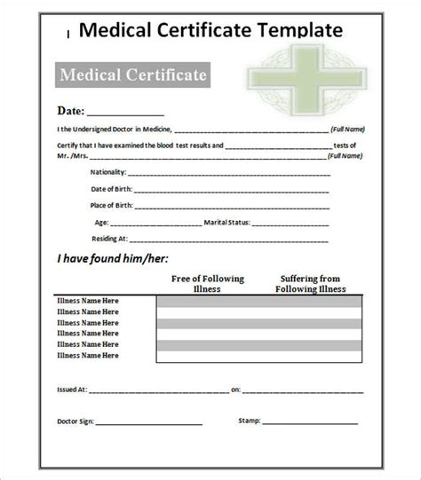 fake medical certificate template imts2010 info