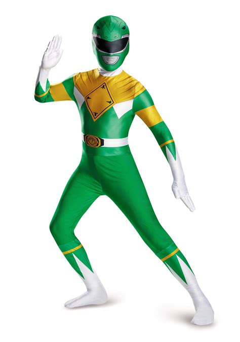 Power Rangers Mighty Morphin Green Ranger Costume Www