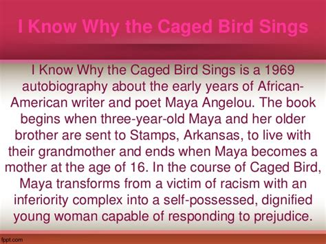 I Why The Caged Bird Sings Essay by How To Write An Application For A Teaching Biomedical Signal Analysis A Casestudy Approach