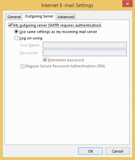 yahoo email outgoing server settings outlook 2016 2013 add yahoo mail