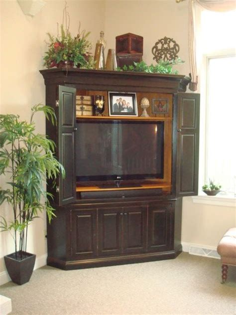 corner tv armoire for flat screen tvs 25 best ideas about corner tv cabinets on pinterest