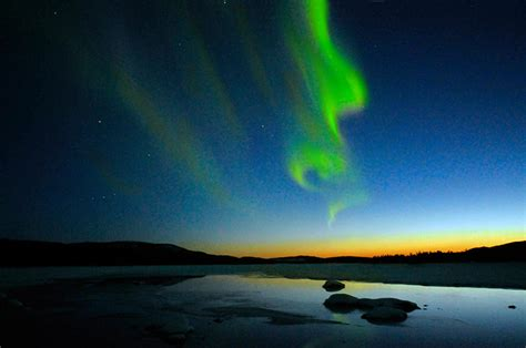 where are the northern lights visible northern lights should be visible as far south as maryland